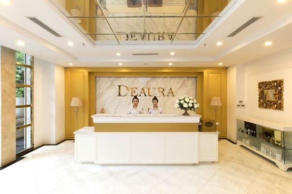 deaura là địa chỉ Spa nổi tiếng