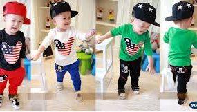 quần áo thời trang dành cho bé trai năng động