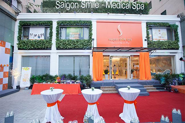 trung tâm Saigon Smile spa địa chỉ làm đẹp uy tín