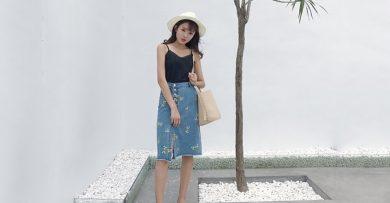 Chân váy bò bút chì kết hợp với áo gì đẹp nhất?