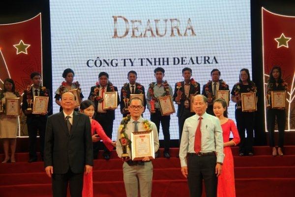 Deaura nhận giải thường hương hiệu tín nhiệm – Sản phẩm, Dịch vụ chất lượng cao