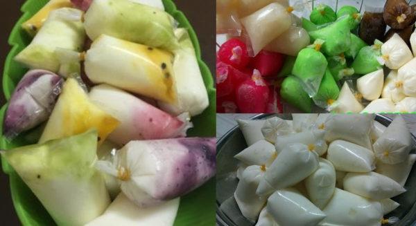 Sữa chua túi hoa quả