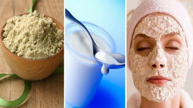 Cách dưỡng da bằng cám gạo và sữa chua đơn giản nhưng hiệu quả