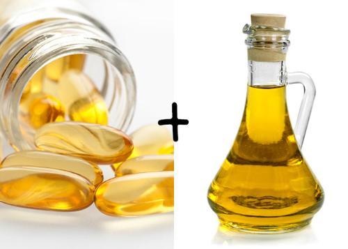 Vitamin và dầu dừa