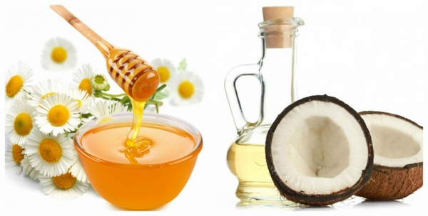 Mặt nạ dầu dừa mật ong : giúp tẩy da chết