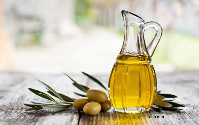 chống lão hóa da bằng dầu oliu