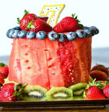 Bật mí cách làm bánh sinh nhật bằng hoa quả đơn đơn giản và đẹp mắt