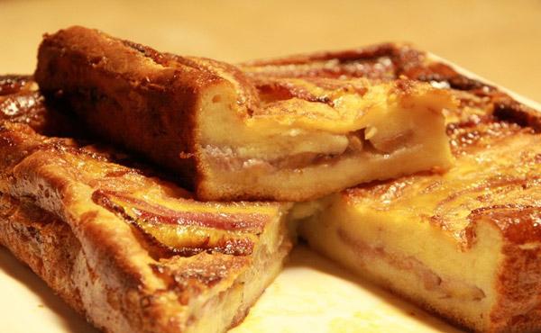 Bánh chuối nướng thơm ngon, hấp dẫn