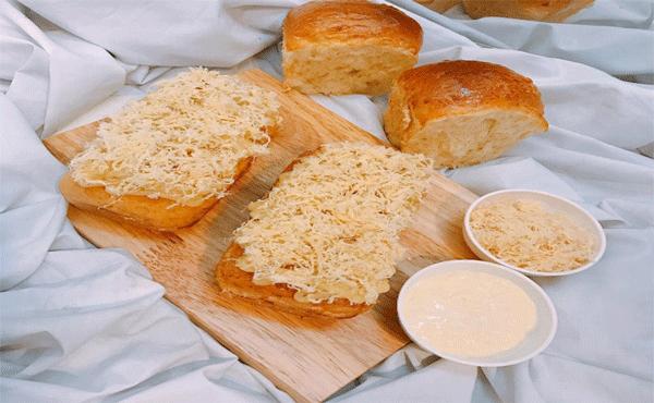 Cách làm bánh mì mặn chà bông