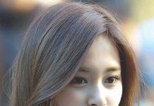 tóc ngang vai mái dài hàn quốc