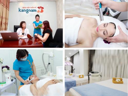 Hình ảnh trị nám tại bệnh viện thẩm mỹ Kangnam