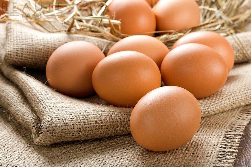 Trứng gà dược côi là một loại mỹ phẩm thiên nhiên