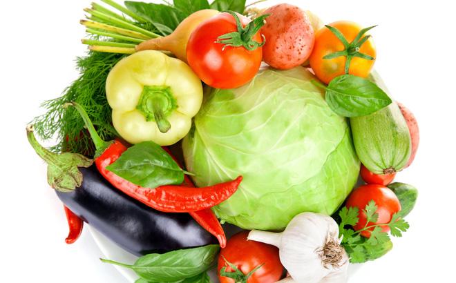 các loại rau củ quả chứa hàm lượng lớn vitamin và chất chống oxy hóa